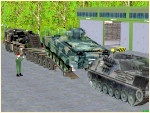 Panzertransporter SLT-56 Set