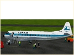 Vickers Viscount 800 Luxair Set
