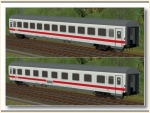 DB ICE-farbene Wagen Set 2