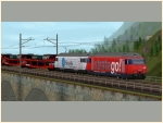 E-Lokomotive Re460 035 und SBBRe460 038