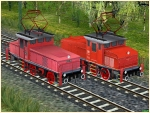 E-Lokomotiven-Set DB E63-02 Epoche III und DB 163 005-2 Epoche IV