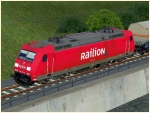 BR 185.1 Railion in Epoche V Set 2