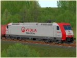 BR 185-CL 007 der veolia Transport Epoche VI