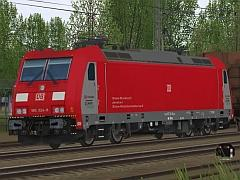 E-Loks BR 185 der DB-Schenker in Epoche VI - Set 1
