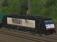 E-Loks BR189 Dispolok in Ep VI bei MRCE - Set 4 - 130 years elektric traction