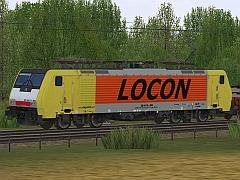 E-Loks BR189 Dispolok in Ep VI bei MRCE - Set 8 - Locon