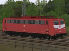 E-Loks BR 150 orientrot der DB in Epoche IV - Set 1