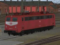 E-Loks BR 150 orientrot der DB in Epoche IV - Set 2