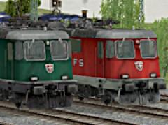 SBB Re 620 Lokomotiven