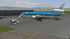 Flugzeug MD11-KLM (Passagierversion)