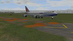B747-400F-CA-10 ( China Airlines Cargo  )