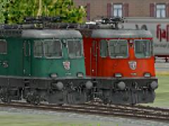Lokomotiven SBB Re 4/4 III (430)