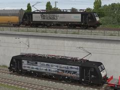 BR 189 150-6 MRCE Dispolok in versch. Designs