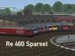 Sparset - SBB Re460 in Epoche V