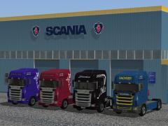 Scania Immobilien-Set