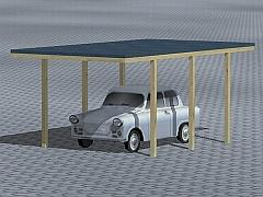 Carport-Set Bremen
