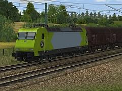 E-Lok 145 931 der Alpha Trains Logistic in Epoche VI