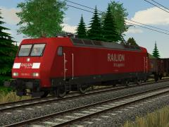 E-Lok 145 002 Railion DB Logistics Epoche V
