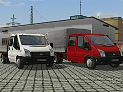 Ford Transit der 5-ten Generation. Set 1 mit 30 Modellen.