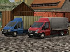 Ford Transit der 5-ten Generation. Set 1 mit 20 Modellen.