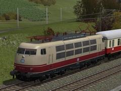 DB BR 103 in TEE-Lackierung der Ep.IV