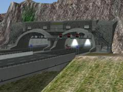 Autobahn-Tunnel