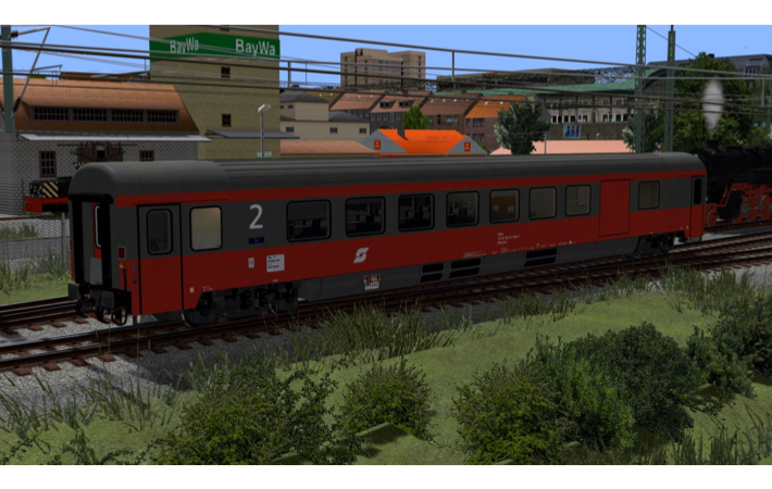 Personenwaggon, BDmpsz 82-91 2.Klasse/Gepäckwagen